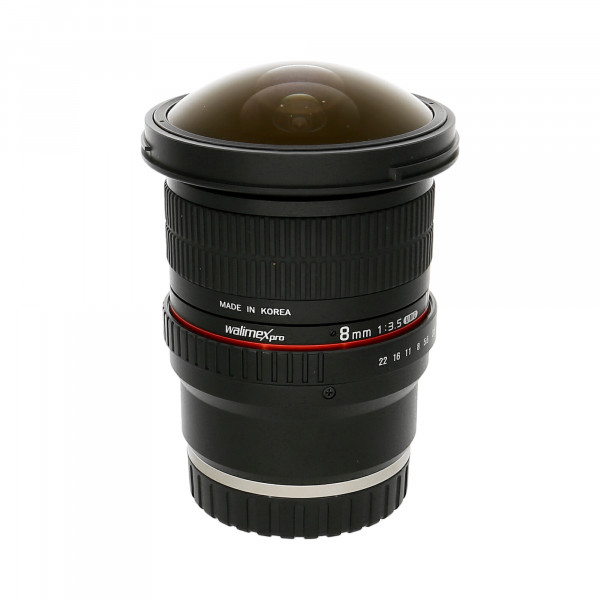 Obj.Walimex Pro 8mm, 1:3,5 CSC Fish-EyeII Nr.:F614E1676
