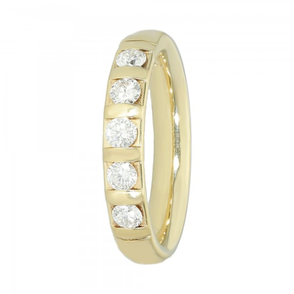 Ring 585 Gelbgold mit Brillanten ca.0,50 ct.