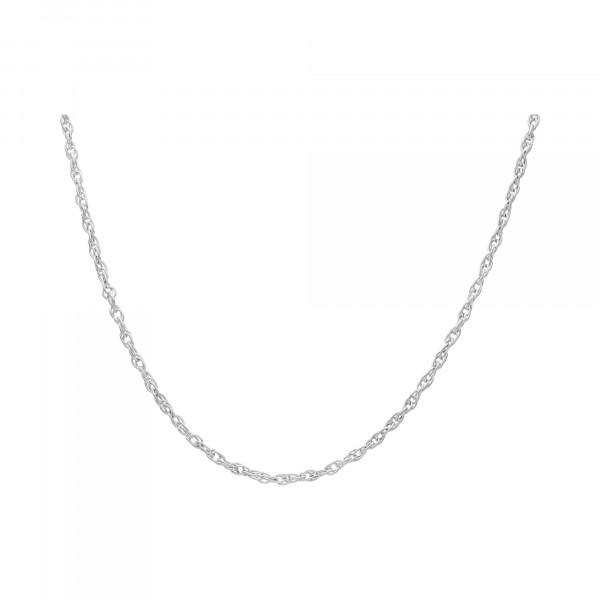 Kette Silber 835 60 cm Zopf