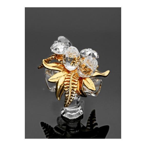 Swarovski Kristall-Figur Blumenstrauß