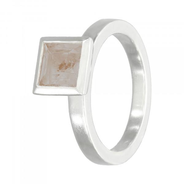 Ring 925 Silber mit Rauchquartz
