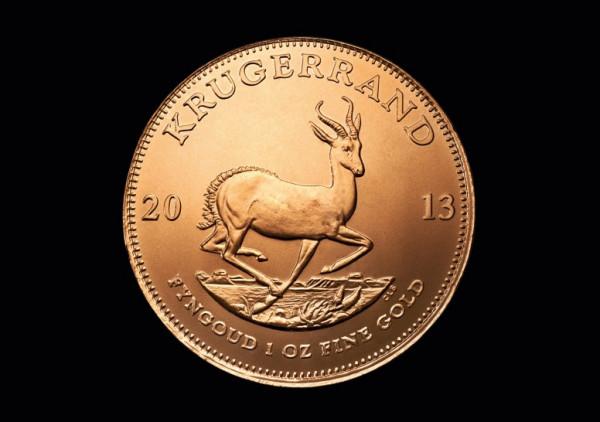 Krügerrand 1 Oz. Goldmünze banküblich