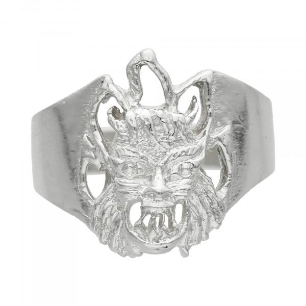 "Ring 925 Silber ""Teufel"""