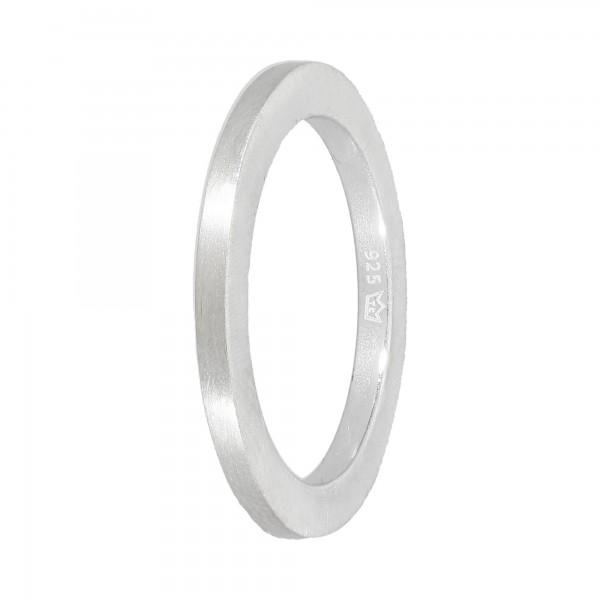 Ring 925 Silber matt