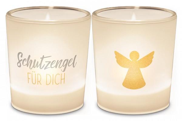 """Teelichthalter """"Schutzengel für Dich"""""""