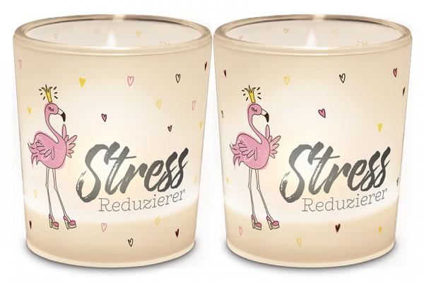 """Teelichthalter """"Stress Reduzierer"""""""
