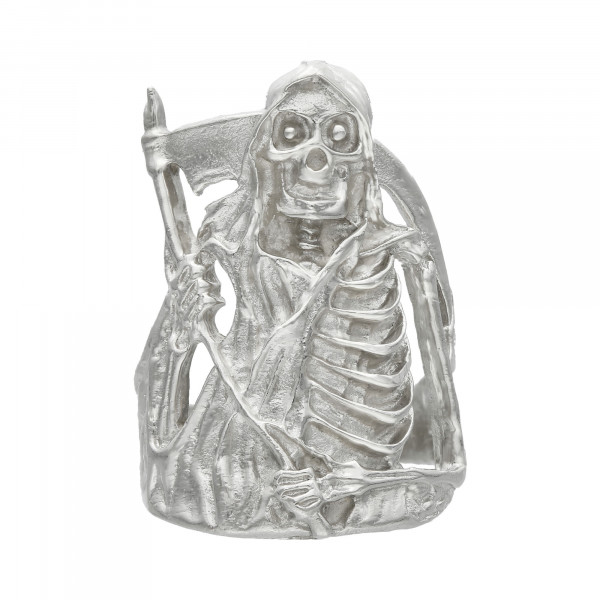 "Ring 925 Silber "" Der Sensenmann """