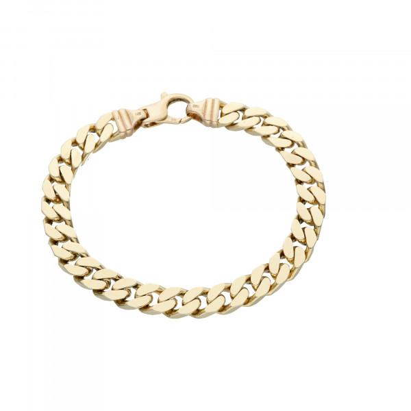 Armband 585 Gelbgold 21 cm