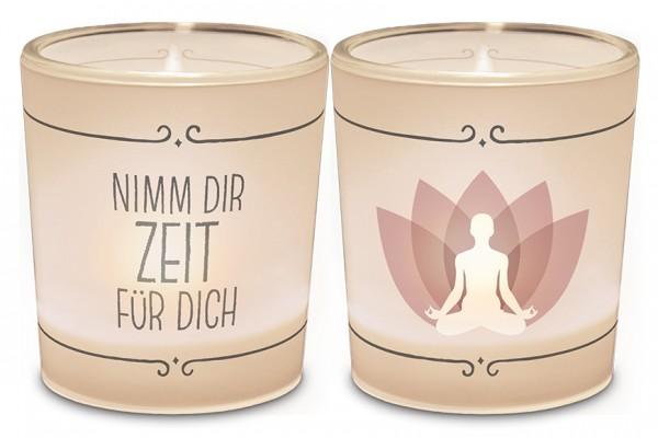 """Teelichthalter """"Nimm Dir Zeit für Dich"""""""