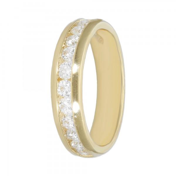Ring 585 Gelbgold mit Brillanten ca.0,84 ct.
