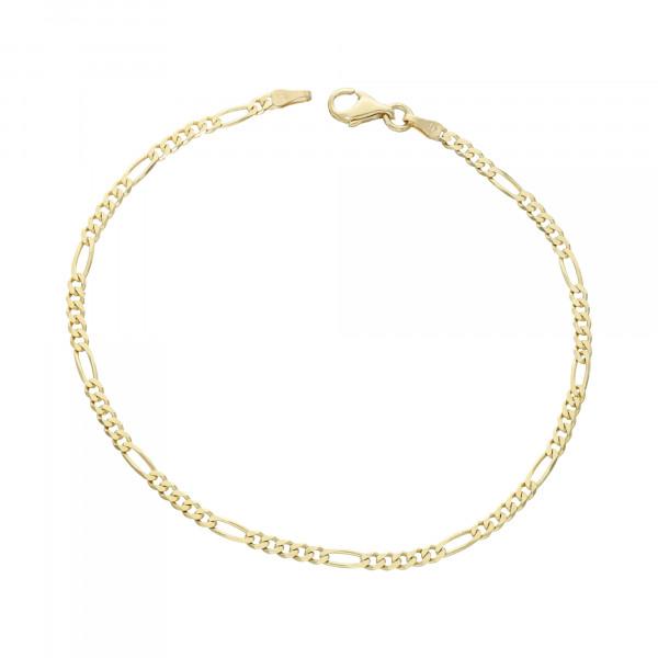 Armband 14 Karat Gelbgold Figaro