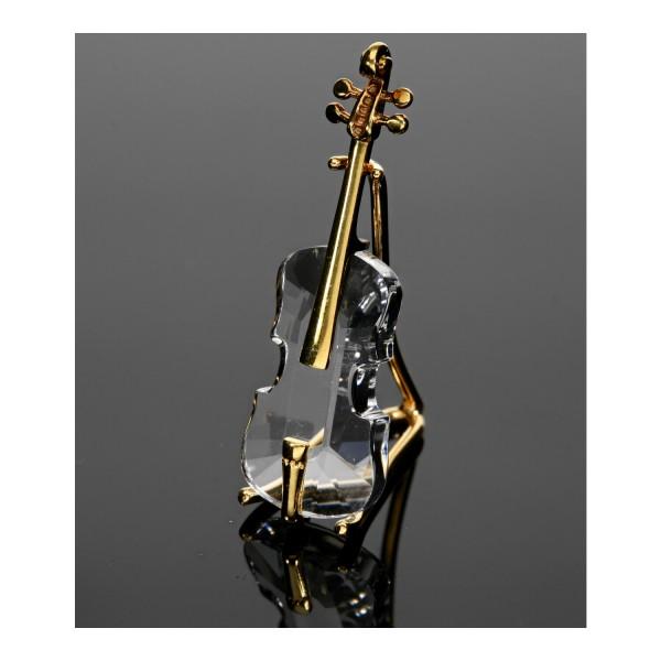 Swarovski Figur Cello mit Ständer