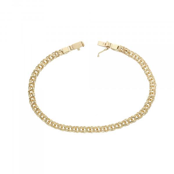 Armband 585 Gelbgold 22,5 cm