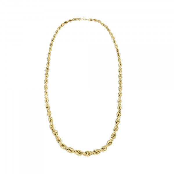 Kette Kordel 333 Gelbgold verlaufend 60 cm