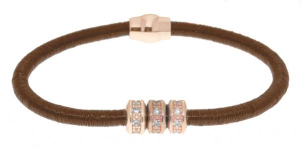 Armband Kupfer/Messing kupfer mit Zirkonia