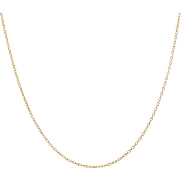 Kette 18 Karat Gelbgold 68 cm