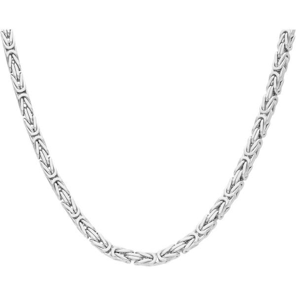 """Kette 925 Silber """"Königsmuster"""" 55 cm"""