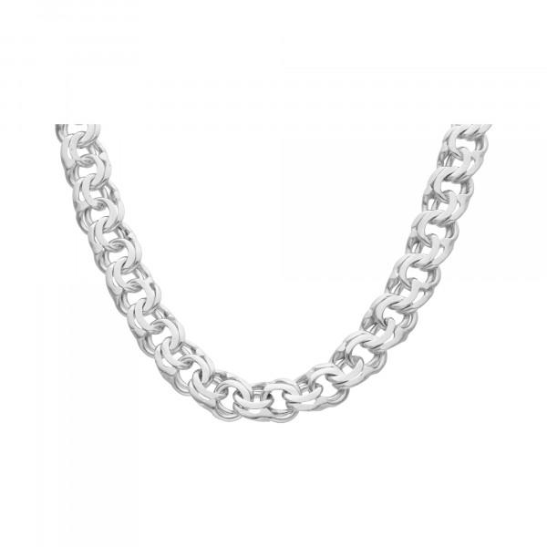 Kette/Collier Silber 925 Garibaldi 55 cm