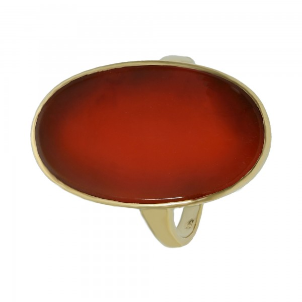 Ring 585 Gelbgold mir Karneol