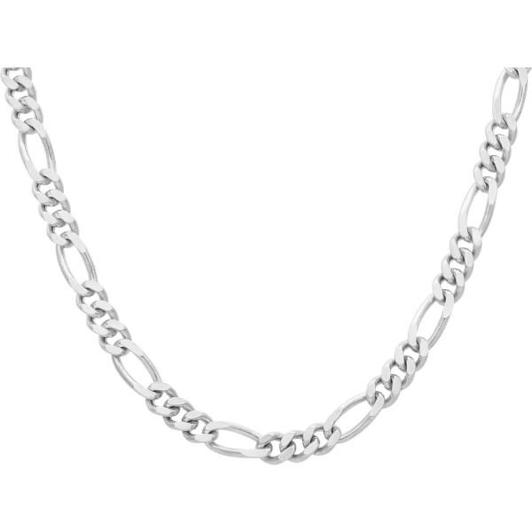 """Kette 925 Silber """"Figaro"""" 55 cm"""