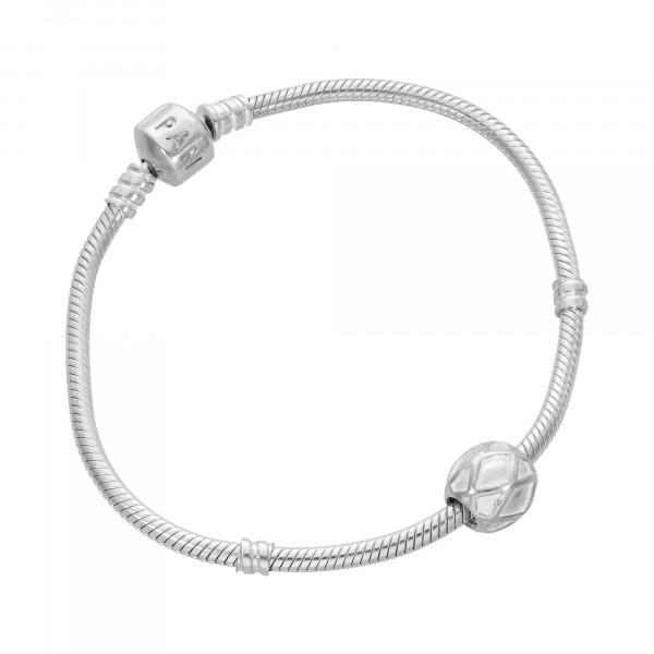 "Armband Silber 925 mit 1 Anhänger ""PANDORA"""