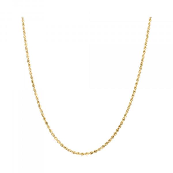 Kette 585 Gelbgold Kordel 70 cm