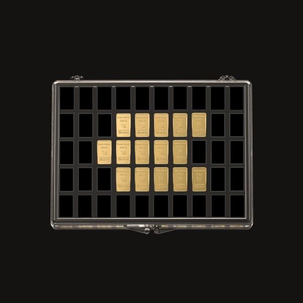 UnityBar Collection 15 x 1,0 Gramm Goldbarren