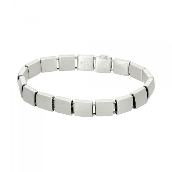 "Armband Sterling Silber ""Quadrate"" 19 cm"