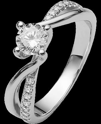 Ring 925 mit Zirkonia