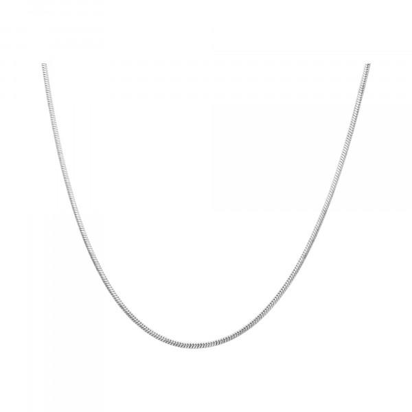 Kette Silber 925 Schlangen 45 cm
