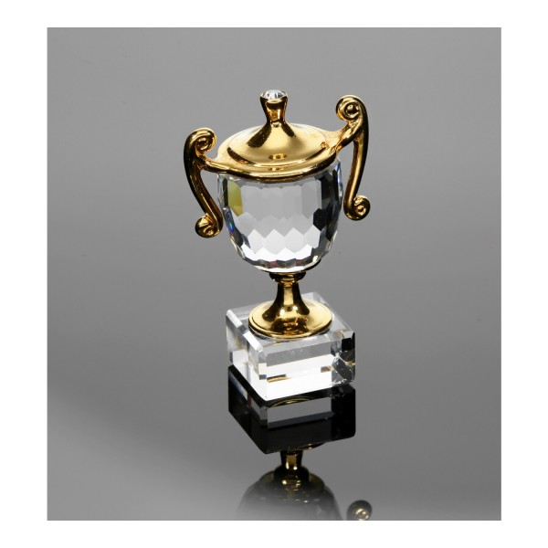 Swarovski Kristallfigur Pokal / Trophy