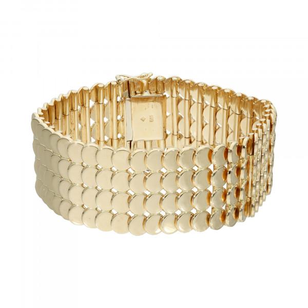 Armband 585 Gelbgold 19 cm