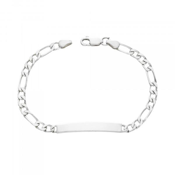 Armband Silber 925 mit Platte