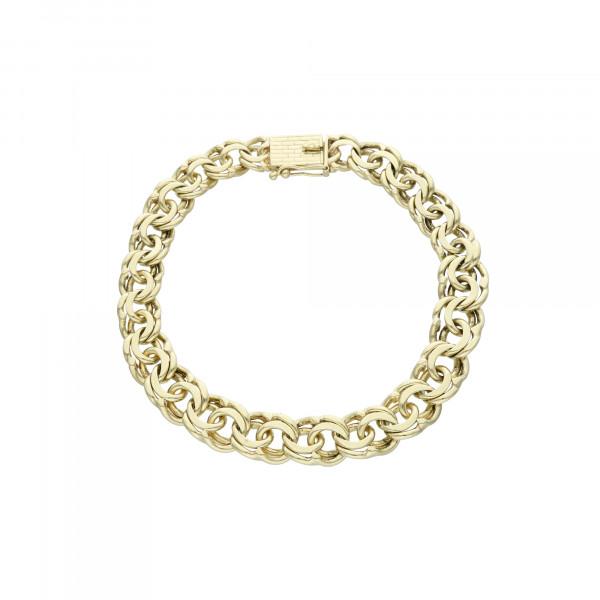 Armband 585 Gelbgold 18 cm