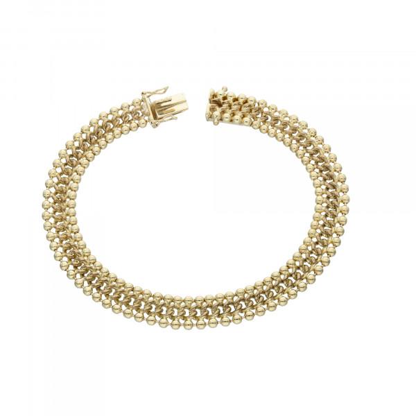 Armband 333 Gelbgold 20,5 cm