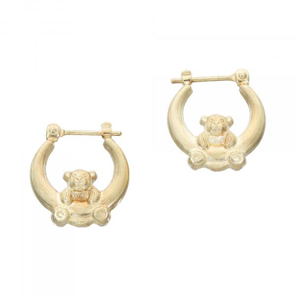 """Ohrhänger 585 Gelbgold """" Teddy """""""