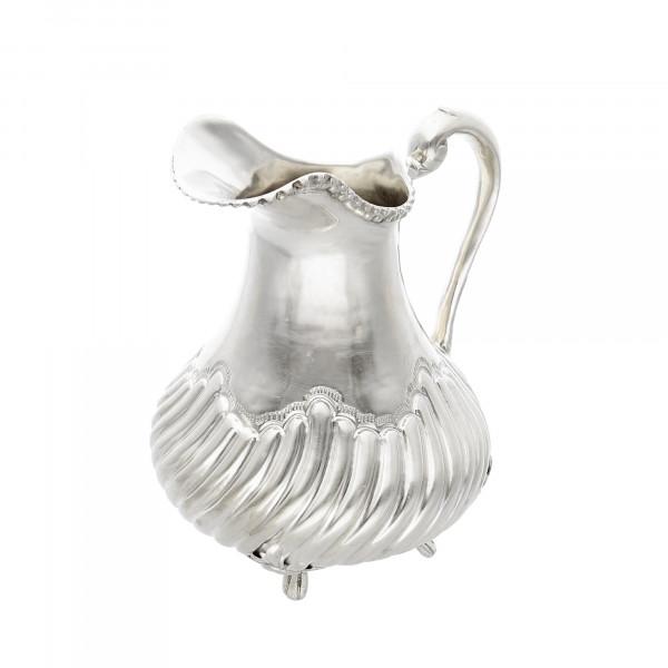 Milchkännchen 900 Silber massiv geschwungen