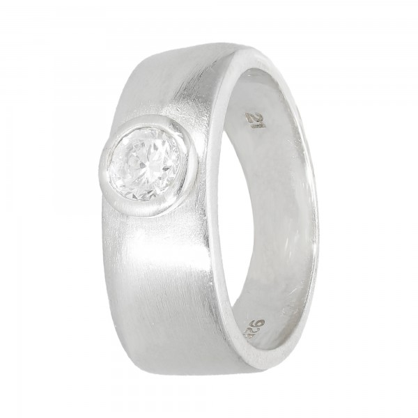 Ring 925 Silber mit Zirkonia
