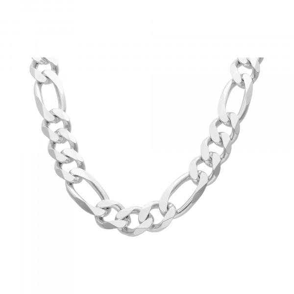 Kette/Collier Silber 925 Figaro 70 cm