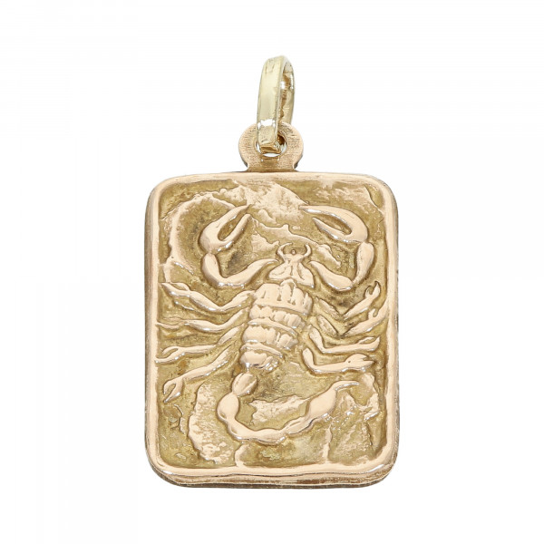 """Anhänger 333 Gelbgold """"Skorpion"""""""