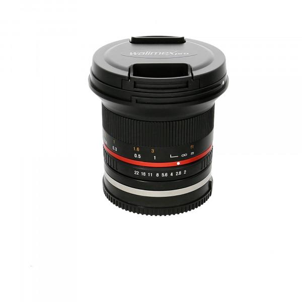 Obj.Walimex Pro 12mm/1:2,0 CSC Weitwinkel Nr.: F614G1517