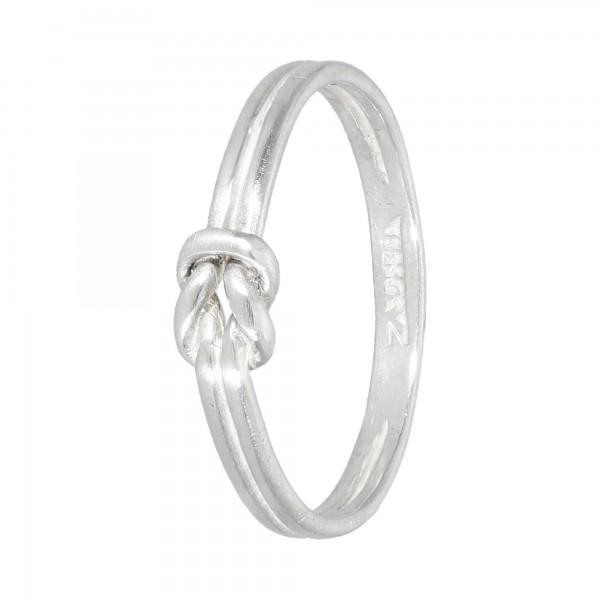 "Ring 835 Silber ""Knoten"""