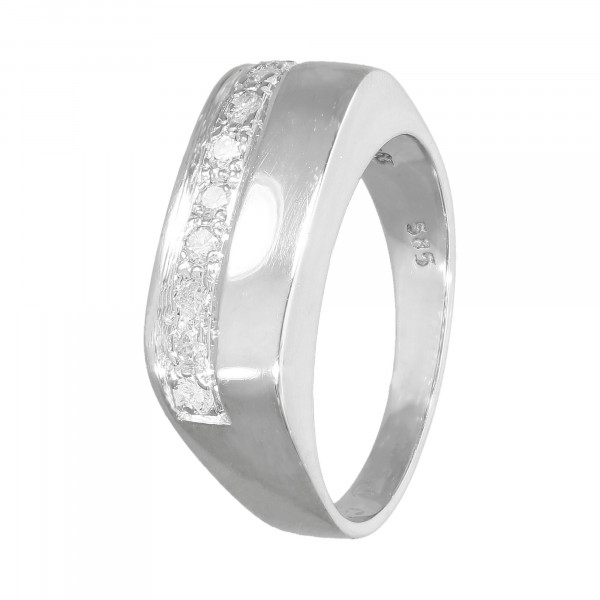 Ring 585 Weißgold mit Brillanten 0,25 Carat