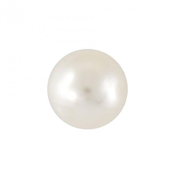 Ohrstecker Chirurgenstahl Perle 6 mm vergoldet