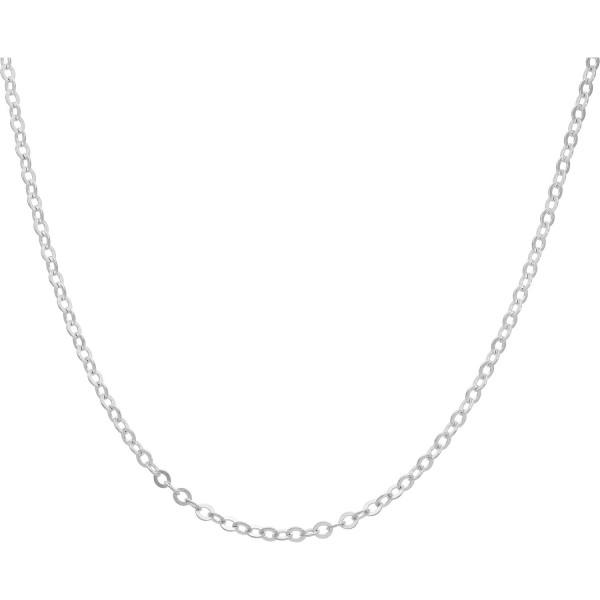 """Kette 925 Silber """"Rundanker"""" 42 cm - 45 cm"""
