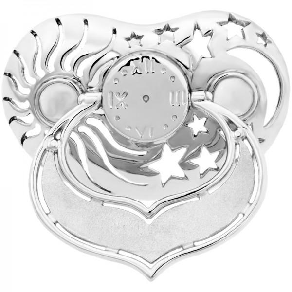 Lollino Klassik, Motiv Sonne, Mond & Sterne, strahlende Zirkonia weiß