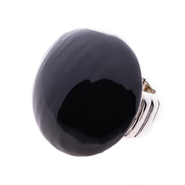 Stretch - Ring schwarz