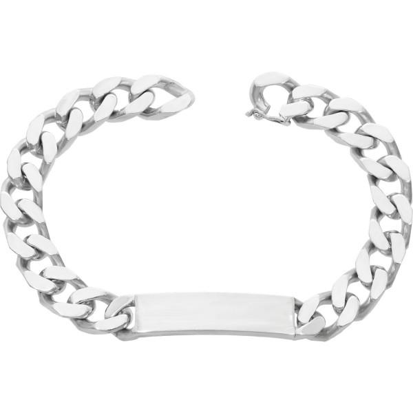 ID Armband Silber 835 Länge: 22 cm
