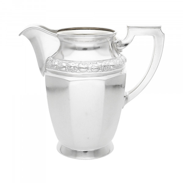 "Milchkännchen 800 Silber mit Rosenbordüre ""Jugendstil"""