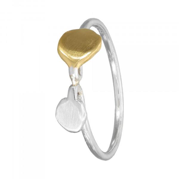 Ring Platin 950 / 22 K bicolor